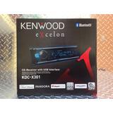 Auto Estereo Kenwood Bluetooth Kdc-x301 Excelon Multicolor
