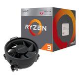 Micro Procesador Amd Ryzen 3 2200g Radeon Vega 8 Am4 3.7 Ghz
