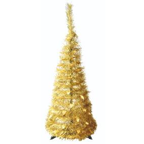 Arbol Navidad Dorado Arboles De Navidad En Mercado Libre Argentina - Arboles-de-navidad-dorados