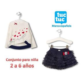 Conjunto De Blusa Y Falda Tuc Tuc 2 A 6 Años Est. 38517