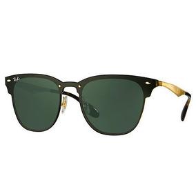 Gafas Ray Ban Blaze Clubmaster Rb3576n 043/9a Negro Dorado