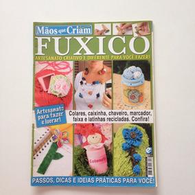 Revista Mãos Que Criam Especial Fuxico Colares Caixinha N°18