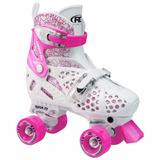 Patines 4 Ruedas Originales Roller Derby Niñas Ajustables