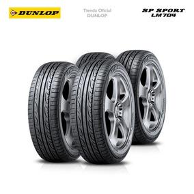 Kit X4 215/55 R16 Dunlop Sp Sport Lm704 +colocacion En 60suc