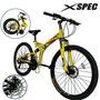Xspec Velocidad Plegable Para Bicicleta Trail Cercaní W43