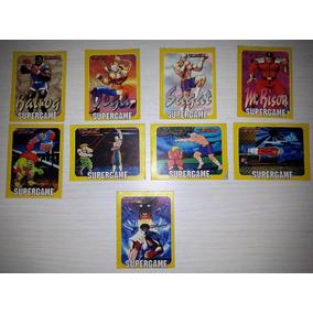 Revista Supergame - 09 Cards Street Fighter 2