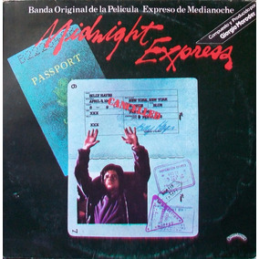 Expreso De Medianoche Disco Vinilo Lp Soundtrack