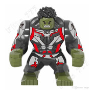 Figura Hulk Tipo Lego Grande Avenegers Vengadores