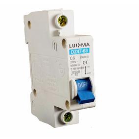 Disjuntor Din Unipolar Curva C 20a Lukma // 34004