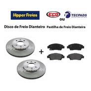 Disco E Pastilha Dianteira Honda Novo Fit Lx 1.5 16v
