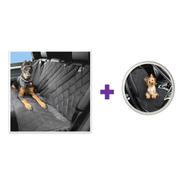 Combo 2 Forros Protectores Sillas Carro Auto Mascota Perro