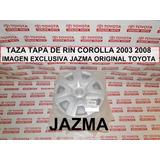 Taza Rin Corolla 2003 2008 Original Toyota Medida Rin 15