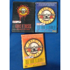 3 Dvds Guns N Roses Use Your Illusion 1 E 2 Welcome Videos