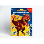 Dinosaurios Libro Con Super Stikers