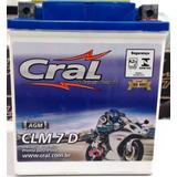 Bateria Cral Max 125 Se Max125 Sundown 7ah Clm7d