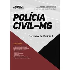 Apostila Polícia Civil-mg Escrivão -pc Mg Completa 2018