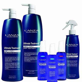 Kit Lanza Ultimate Treatment Profissional 6 Itens + Brindes