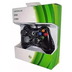 Controle Com Fio Xbox 360 E Pc Slim Foyu