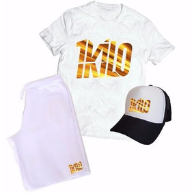 4a22f4c1a8 Kit Camiseta Boné Bermuda 1kilo Banda Rap Hip Hop Color