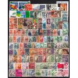 0262 México Lote 215 Sellos Usados 1886-90 09