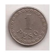 Paraguay Antigua Moneda De 1 Peso Año 1925