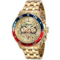 Relógio Seculus Masculino 20334gpsvda2