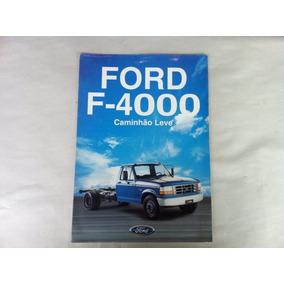 Brochura Original Caminhão Ford F-4000- 1996