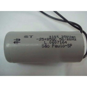 Capacitor 25uf/250v Para Motor De Portão Automático
