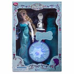 Hermosa Princesa Elsa De Disney -singing Doll- Set De Lujo
