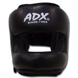 Careta Para Boxeo De Piel Con Barra Protectora Adx Talla S
