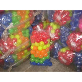 Bolinhas Para Piscina 76mm Pacote Com 100 Bolinhas Coloridas