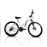 Bicicleta Aro 26 Wny Sofi Freio A Disco 21 Marchas