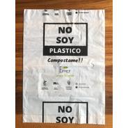 Bolsas 100% Biodegradables Compostables Residuos De 45x60