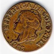 Moneda 2 Centavos - Colombia - 1955