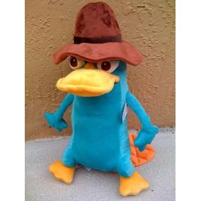 Grande 16 Phineas Ferb Agente Perry Platypus Mu Eco De Pe...