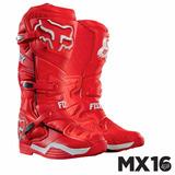 Remate Bota Fox Comp 8 (28cm) Rojo