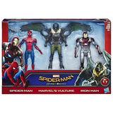 Marvel Spider-man Multipack Web City Figuras 6 Pulgadas