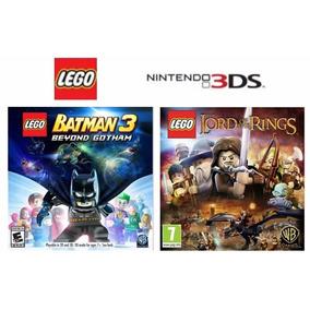 Lego Batman 3 E Lego O Senhor Dos Anéis - Nintendo 3ds