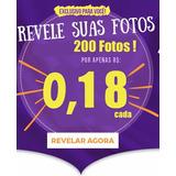 Revelação 200 Fotos 10x15 Alta Qualidade X Menor Preço