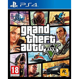 Gta 5 Grand Theft Auto 5 Para Ps4