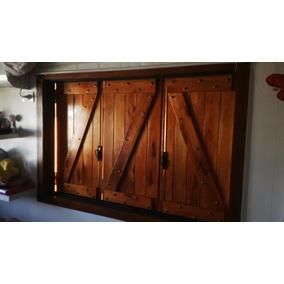 Postigos madera aberturas postigos en mercado libre for Mercadolibre argentina ventanas de madera