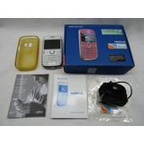 Nokia Asha 302- Caja Manual Accesorios + Funda Como Nuevo !