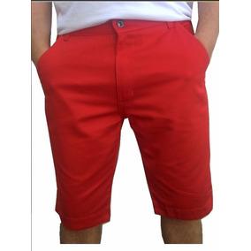 Bermuda Masculina Short Jeans Sarja Coloridas Orginais