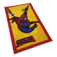 Carpeta Alfombra Hombre Araña 50 X 80cm Spiderman Antidesliz