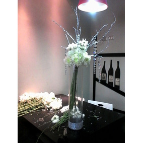 Gran Cilindro De Vidrio Transparente 60cm