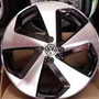 Roda 20 Golf Gti Preta Diamantada 5x114 C\ Pneu Civic Opala