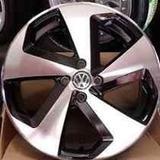 Roda 20 Golf Gti Preta Diamantada 5x114 C\ Pneu Civic Opala