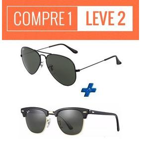 6a25c85a55ee6 Ray Ban Clubmaster Importado - Óculos De Sol no Mercado Livre Brasil