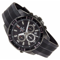 Relógio Casio Edifice Efr-534 Zpb-1av Racing Led Wr-100m