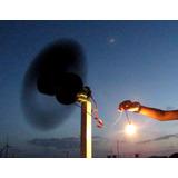5 Projetos Gerador Eólico 1000w,1500w,3000w,5500w +luz Solar